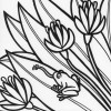 Rainforest frog coloring page