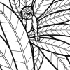 Rainforest monkey coloring page