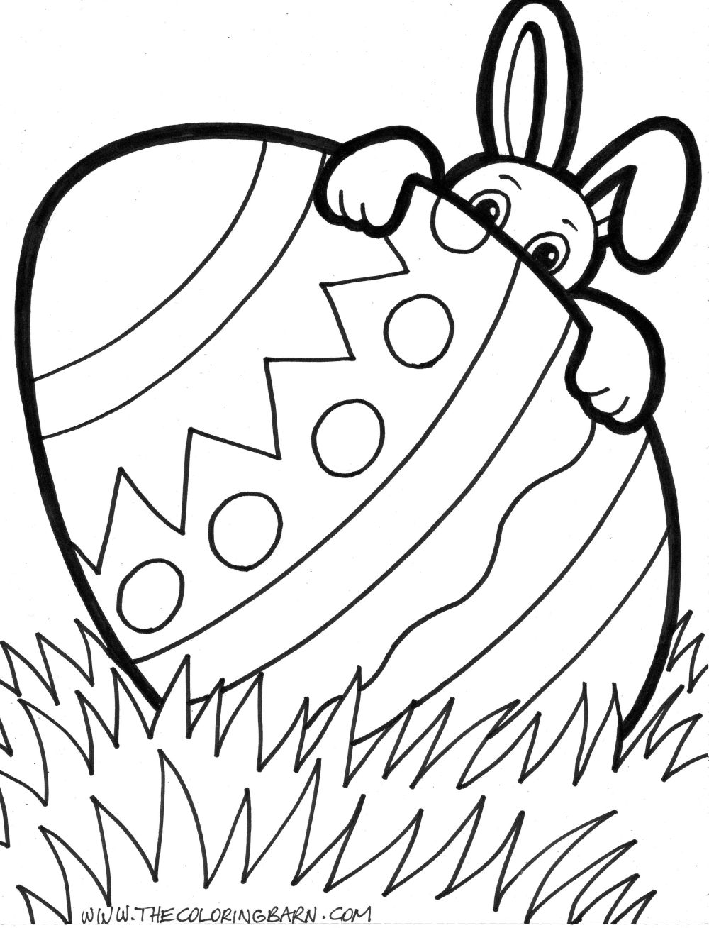 Activity Sheet: Hunt for Easter Eggs! {coloring pages