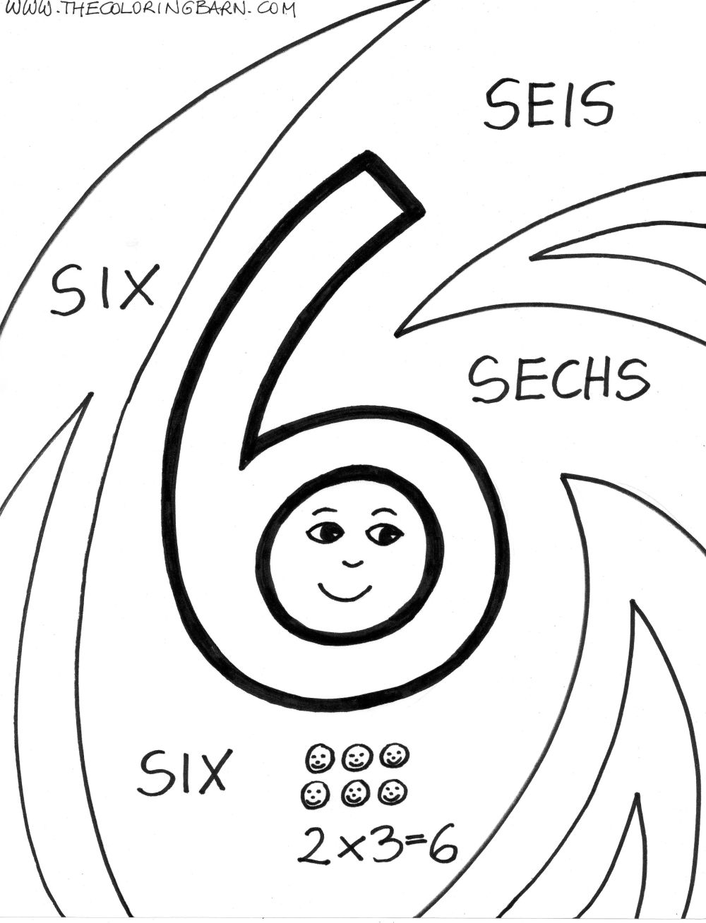 Letters & Numbers Printable Coloring Pages | Print and Color